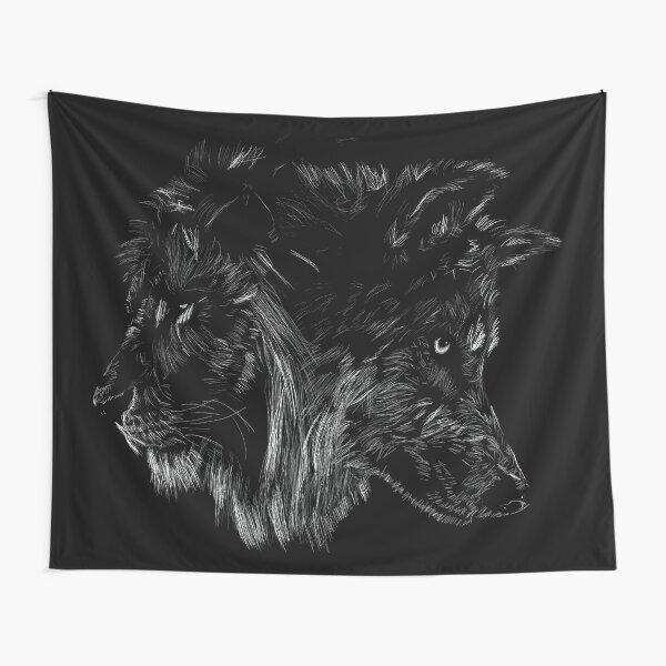 El lobo es rey Tela decorativa
