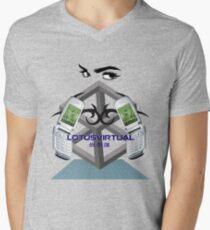 NOSTALGIA 2000 Mens V-Neck T-Shirt