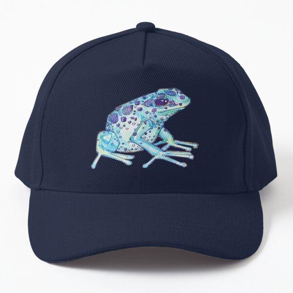 Blue Poison Dart Frog Drawing - 2017 Baseball Cap