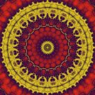 Mandala Fractal in Indian Summer 01 by charmarose