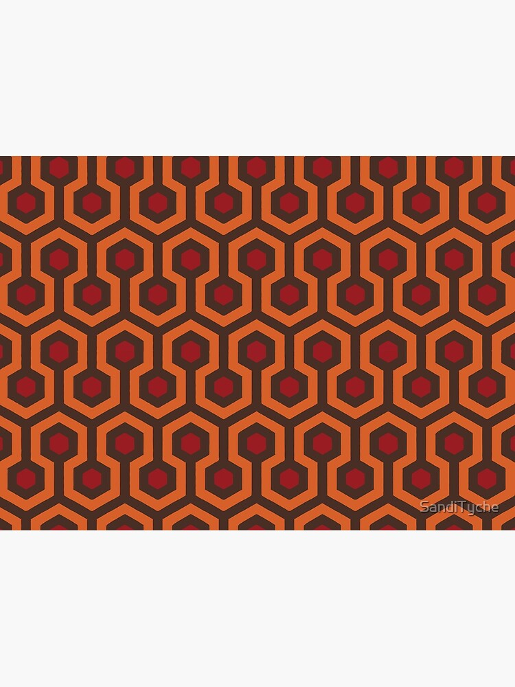 REDRUM Overlook Hotel Carpet The Shining by SandiTyche