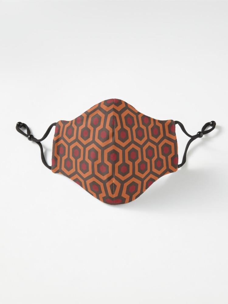 Alternate view of REDRUM Overlook Hotel Carpet The Shining Mask