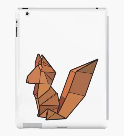 Origami Fox iPad Case/Skin