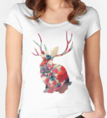 miike snow Women's Fitted Scoop T-Shirt