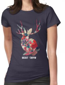 miike snow Womens Fitted T-Shirt
