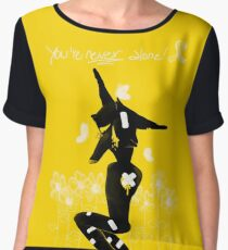 Yellow September - You're NEVER alone! Chiffon Top