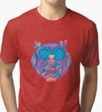 Jazz the little singing owl Tri-blend T-Shirt