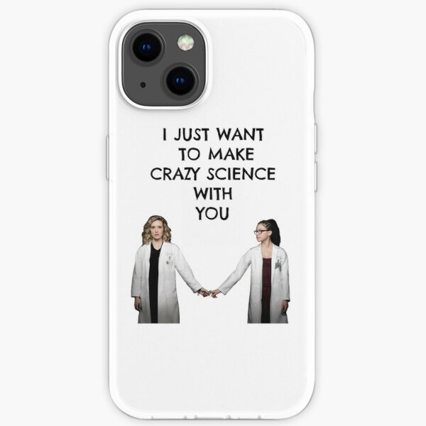 """Orphan Black """"Crazy Science"""" iPhone Soft Case"""