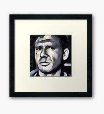 Deckard - Beat Up Framed Print