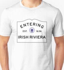 Entering the Irish Riviera - Scituate Massachusetts  Unisex T-Shirt