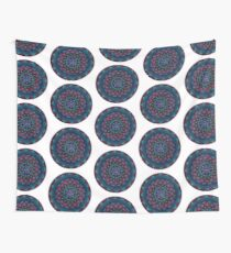 Happy Happy Joy Joy Mandala Wall Tapestry