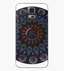 Rainbow Warrior of the Light Mandala Case/Skin for Samsung Galaxy