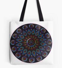 Rainbow Warrior of the Light Mandala Tote Bag