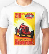 """BIMOTORE GRAND PRIX"" Vintage Auto Racing Print Unisex T-Shirt"