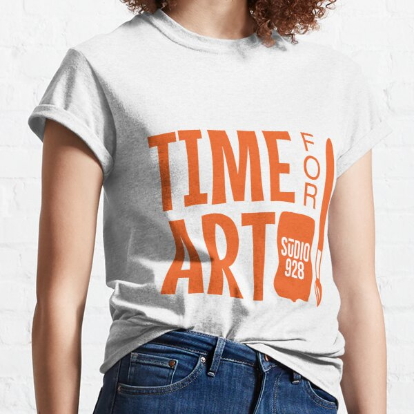 Time for Art with Studio 928 Classic T-Shirt