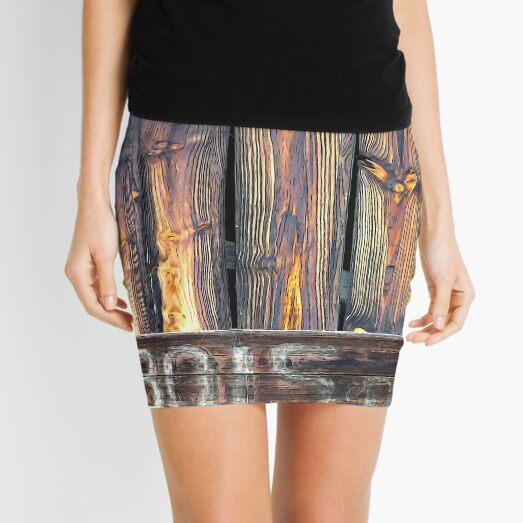 Sarlat North Wood Mini Skirt