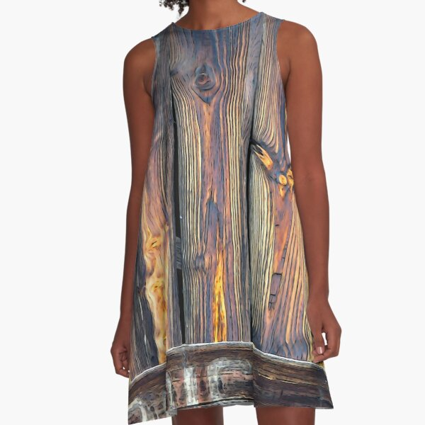 Sarlat North Wood A-Line Dress