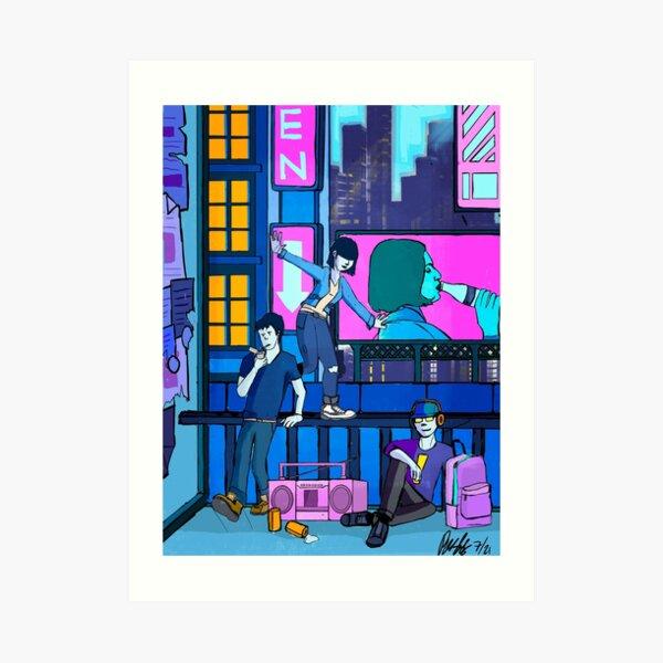 City Slackers Art Print