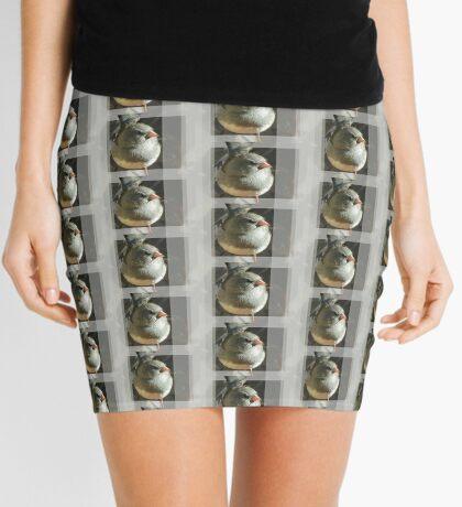 The Little Dark-eyed Junco Mini Skirt