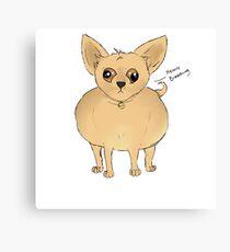 Ben the Chihuahua Canvas Print