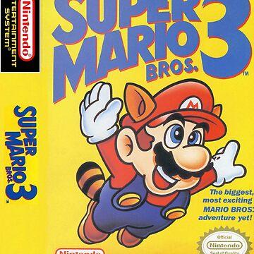 Super Mario 3: Box Art by muramas
