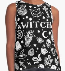 WITCH PATTERN 2 Contrast Tank