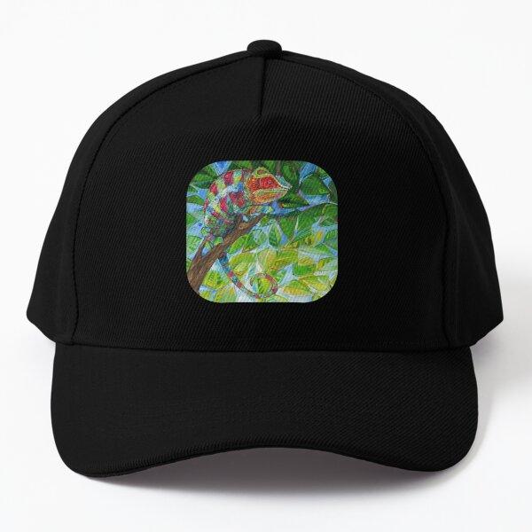 Panther Chameleon Painting - 2012 Baseball Cap