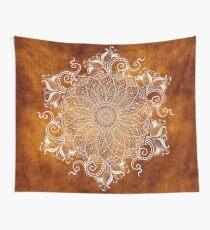 Mandala - Tangerine Wall Tapestry