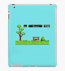 NES duck hunt dog game iPad Case/Skin