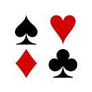 card symbols by Tony  Bazidlo