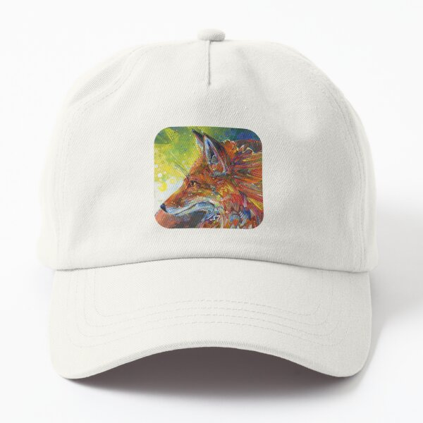 Red Fox Painting - 2012 Dad Hat