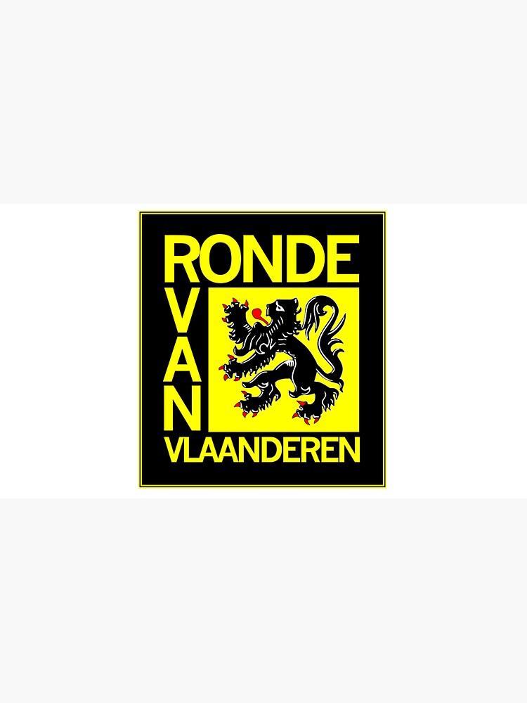 Ronde Van Vlaanderen : Vintage Cycle Racing Advertising Print by posterbobs