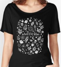 WITCH PATTERN 2 Relaxed Fit T-Shirt