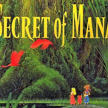 Secret of Mana: Cover Art by muramas
