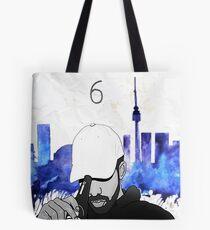 Drake - Watercolors (Blue) Tote Bag