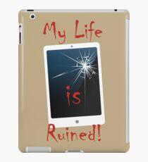 Cracked screen iPad Case/Skin