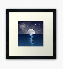 Moonlit Ocean Framed Print
