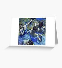 Edgar Degas - Blue Dancers  Greeting Card