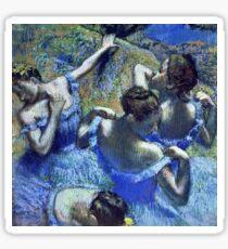 Edgar Degas - Blue Dancers  Sticker