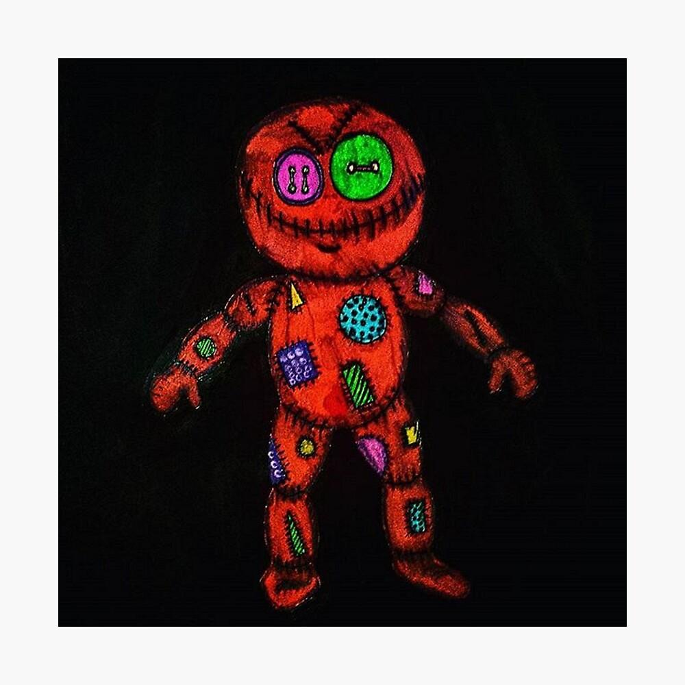 Muñeca de trapo Lámina fotográfica