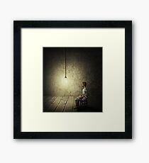 idea concept Framed Print