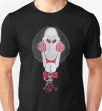 Horror Movie Puppet Caricature T-Shirt