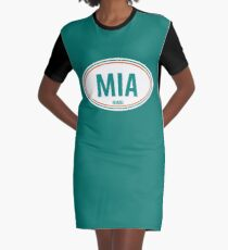 MIA - EURO STICKER Graphic T-Shirt Dress