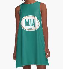 MIA - EURO STICKER A-Line Dress