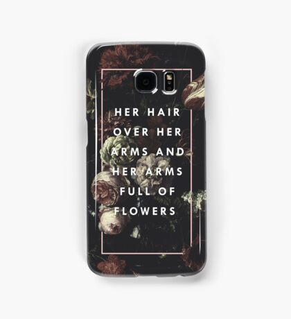Arms Full Of Flowers Samsung Galaxy Case/Skin