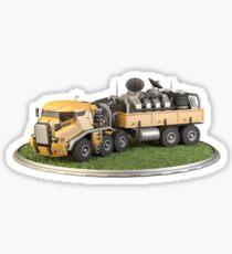 Futuristic Heavy Truck Sticker