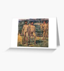 Edvard Munch - Bathing Men 1907 Greeting Card