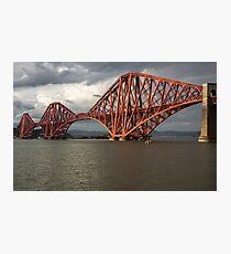 Forth Rail Bridge, Scotland Photographic Print