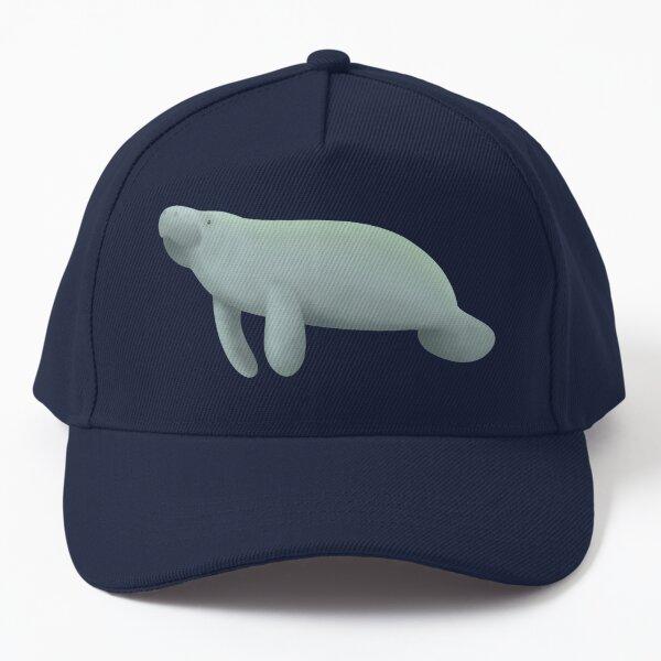 manatees (blue) Baseball Cap