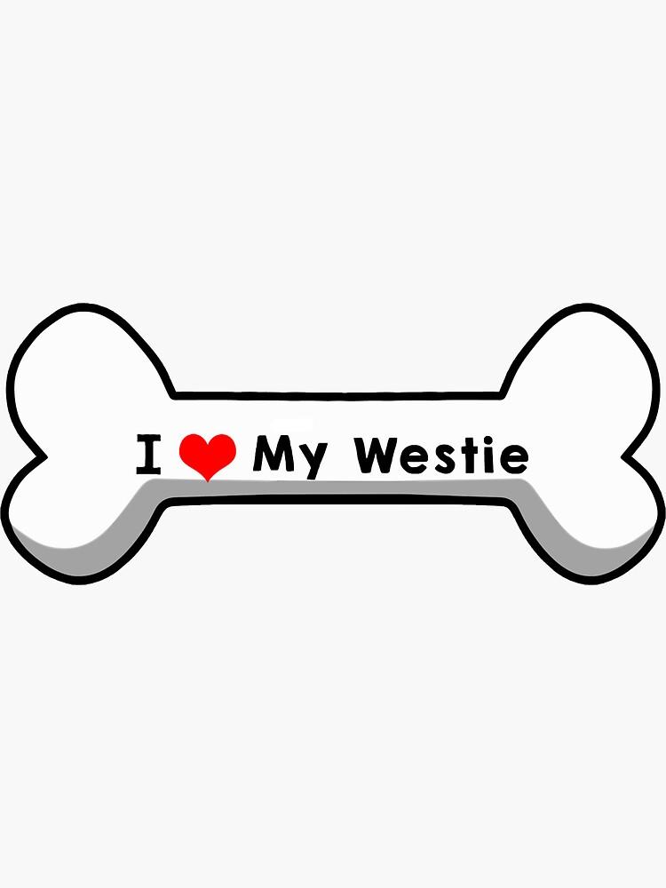I Love My Westie by mindofstate